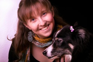 Dr. Kyla Sentes with Lucy